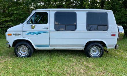 Rad Van: 1994 Chevrolet G20 Mark III Conversion Van – Sold?