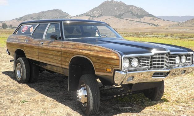 1972 Ford Country Squire 4×4 Wagon – SOLD!