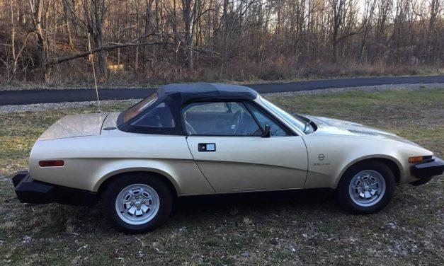 Package Post 1: 1980 Triumph TR8 – STILL $19,000