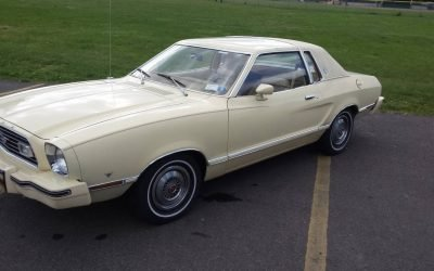 Preserved Plaid: 1977 Ford Mustang II Ghia 16K Mile Survivor – SOLD!