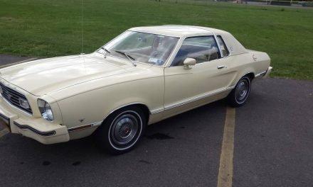 Preserved Plaid: 1977 Ford Mustang II Ghia 16K Mile Survivor – $7,000