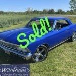 1966 Chevrolet Chevelle – SOLD For $32,000!