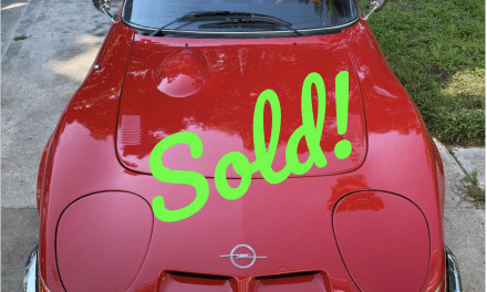 1970 Buick Opel GT – Sold For $14,000!