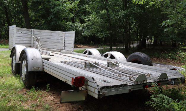 1985 Trailex 16.5 Foot Car Hauler