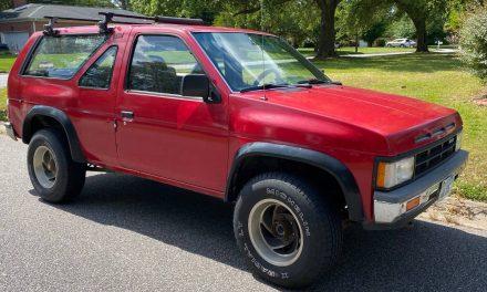Body on Frame Survivor: 1988 Nissan Pathfinder – SOLD!