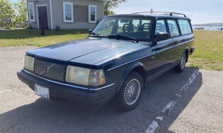 One of 1,600: 1993 Volvo 240 Classic Edition – SOLD!