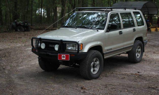Low Mile Off Roader: 1995 Isuzu Trooper – SOLD!