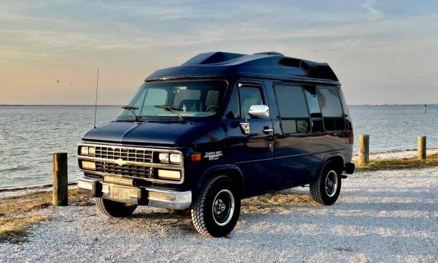 Camper Conversion: 1996 Chevrolet G20 – NOW $15,500