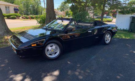 The Raddest Ferrari? 1986 Ferrari Mondial – Sold?