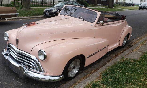 Dated Droptop: 1947 Oldsmobile Series 66 Convertible – $29,900