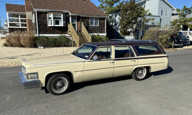 Caddy Wagon: 1979 Cadillac Wagon DeVille d'Elegance – $15,500