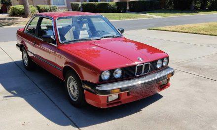 1986 BMW E30 325es Automatic Coupe