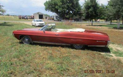 Factory 8-Track: 1967 Pontiac Bonneville Convertible