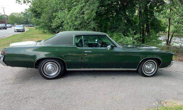 Gang Green: 1971 Pontiac Grand Prix Model J Survivor – $8,500