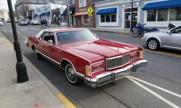 Lipstick Landau: 1977 Mercury Grand Marquis – $13,500