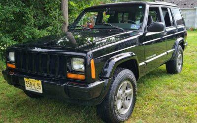 1999 Jeep XJ Cherokee Classic – SOLD!