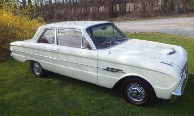Concours Contestant: 1962 Ford Falcon Futura – $10,500