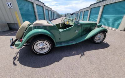 50 Years Owned: 1952 MG TD