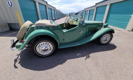 50 Years Owned: Ash Green 1952 MG TD