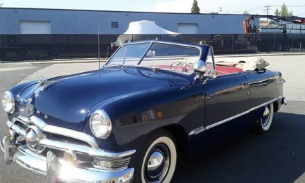 Sexy Shoebox: 1950 Ford Deluxe Convertible Club Coupe – SOLD!