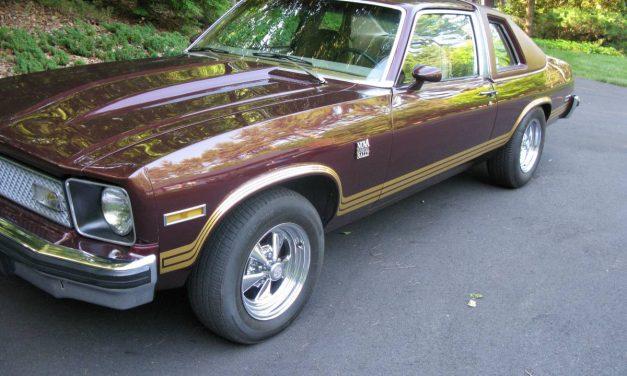 High Tide: 1978 Chevrolet Nova Rally – $19,900