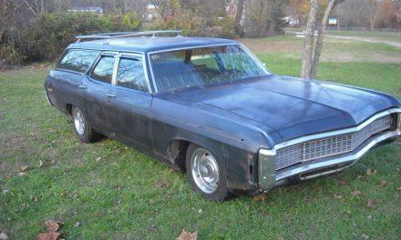 Hidden Headlights: 1969 Chevrolet Kingswood Estate Factory 396 – $10,795