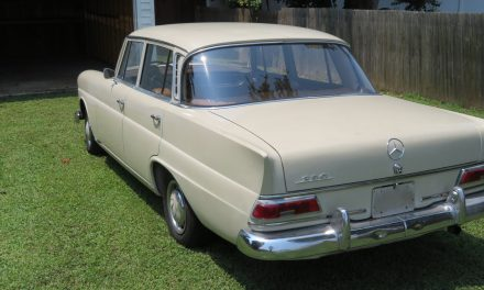 """Owned 33 Years: 1967 Mercedes-Benz W100 230 """"Fin Tail"""""""