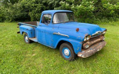True Truck: 1958 Chevrolet Apache 3200 – NOW $11,500