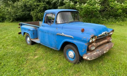 True Truck: 1958 Chevrolet Apache 3200 – Sold?