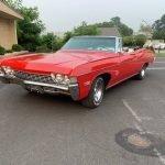 Clean Car: 1968 Chevrolet Impala Convertible – $19,000