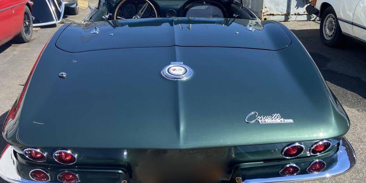 1965 Chevrolet Corvette Convertible 427/4-Speed – POSTPONED