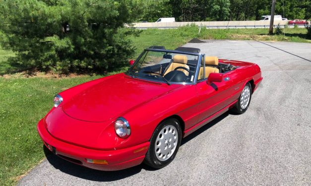 Older Owned: 1991 Alfa Spyder – $26,500