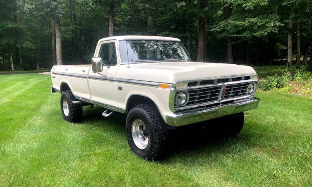 NEW! Award 79: 1975 Ford F250 Ranger XLT 4×4 59K Miles – $39,000