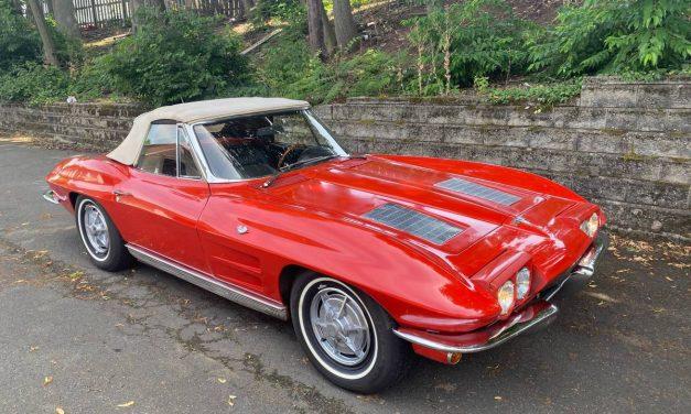 Decent Driver: 1963 Corvette 327/4-Speed Convertible – NOW $45,000
