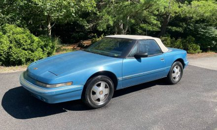 Relaxed Roadster: 1990 Buick Reatta Convertible – SOLD!