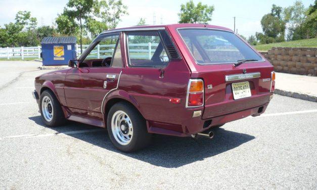 Cheap Custom: 1980 Toyota Corolla Shooting Brake – SOLD!