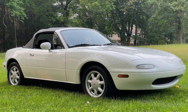 Crystal Clear: 1990 Mazda Miata NA 14K Mile Survivor – $19,750