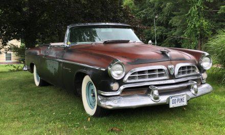 Kool Kustom: 1955 Chrysler Windsor Roadster – Sold?