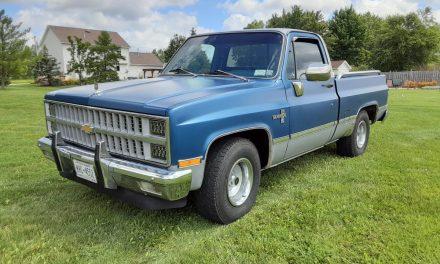 Rounded Line: 1981 Chevrolet C10 Silverado SWB – STILL $17,500