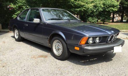 Restoration Ready: 1984 BMW 633CSi Five-Speed – SOLD!