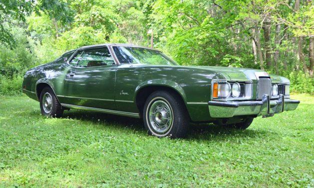 Failed Fan: 1973 Mercury Cougar XR7 – NOW $15,100