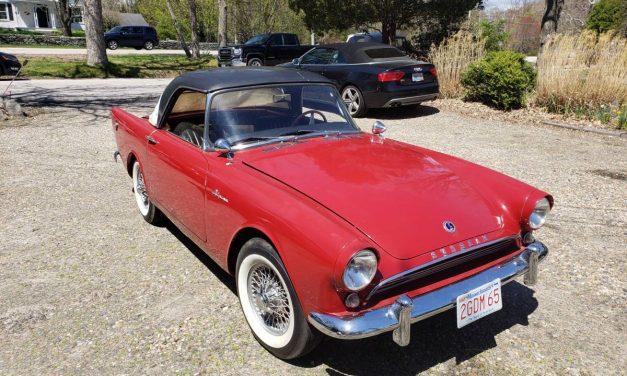 Get Smart: 1962 Sunbeam Alpine – NOW $25,000