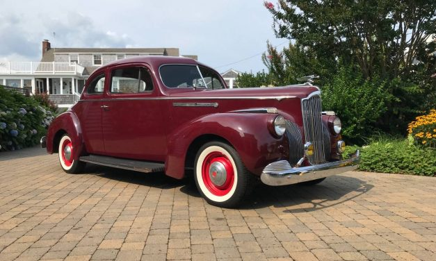Coastal Coupe: 1941 Packard 110 1800 Two-Door Club Coupe – $20,000