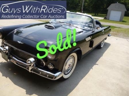 1956 Ford Thunderbird – SOLD For $24,000!