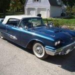Blue Bird: 1959 Ford Thunderbird Convertible – $20,900