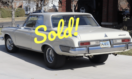 1963 Dodge Max Wedge Tribute – SOLD At $38,400