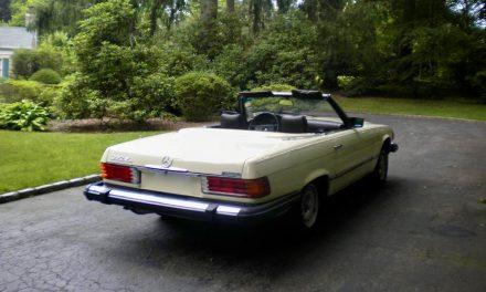 Original Owner: 1981 Mercedes-Benz 380SL