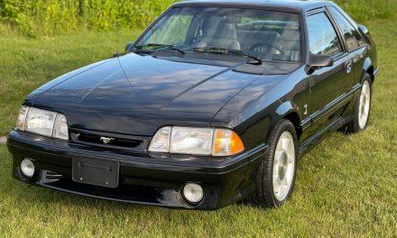 11,000 Original Miles: 1993 Ford Mustang Cobra – Sold?