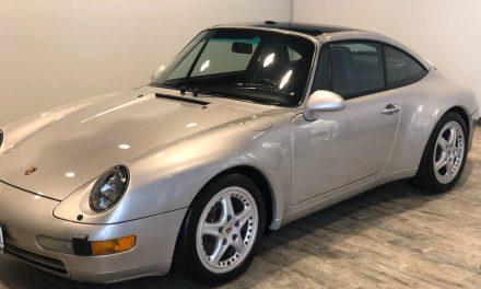 Glass Roof 993: 1997 Porsche 911 Targa – SOLD!