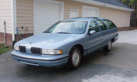 Blue on Blue Wagon: 1991 Oldsmobile Custom Cruiser – Sold?